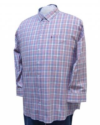Риза Светло каре дълъг ръкав