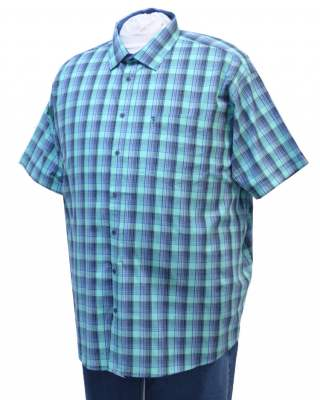 Риза Зелено каре