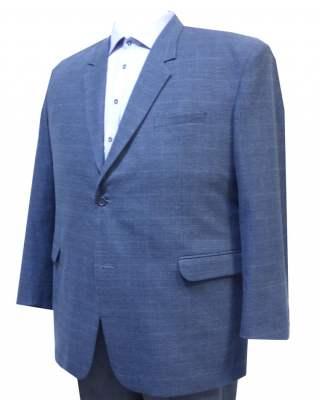 Сако Каре в синьо