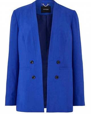 Сако Tailored синьо