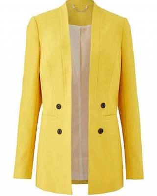 Сако Tailored жълто